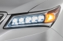 2014 Acura MDX 4dr SUV LED Headlamp Detail