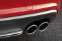 2013 Audi S5 Convertible Exhaust Tip Detail