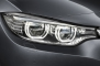 2014 BMW 4 Series Headlamp Detail