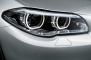 2014 BMW 5 Series Sedan Headlamp Detail