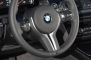 2014 BMW M5 Sedan Steering Wheel Detail