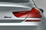 2014 BMW M6 Gran Coupe Sedan Rear Badge