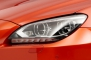 2014 BMW M6 Coupe Headlamp Detail