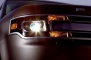2014 Ford Flex Headlamp Detail