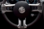 2013 Ford Mustang GT Premium Convertible Steering Wheel Detail
