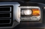 2014 GMC Sierra 1500 SLT Headlamp Detail