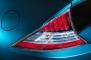 2013 Honda CR-Z Tail Light Detail