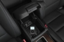 2013 Honda Crosstour EX-L 4dr Hatchback Storage Bin and Aux Input Detail