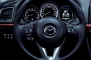 2014 Mazda MAZDA6 i Grand Touring Sedan Steering Wheel Detail