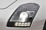 2013 Mercedes-Benz SLS AMG GT Convertible Headlamp Detail