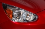 2014 Mitsubishi Mirage ES 4dr Hatchback Headlamp Detail