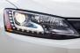2013 Volkswagen Jetta Hybrid SEL Premium Sedan Headlamp Detail